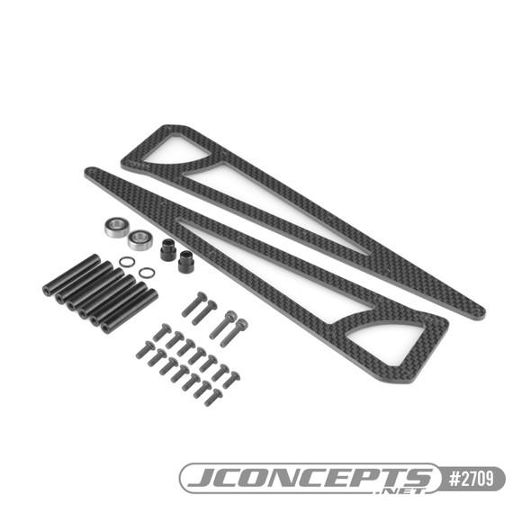J Concepts 2709 SC6.1 Wheelie Bar Kit : SC6.1 Converted to Street Eliminator