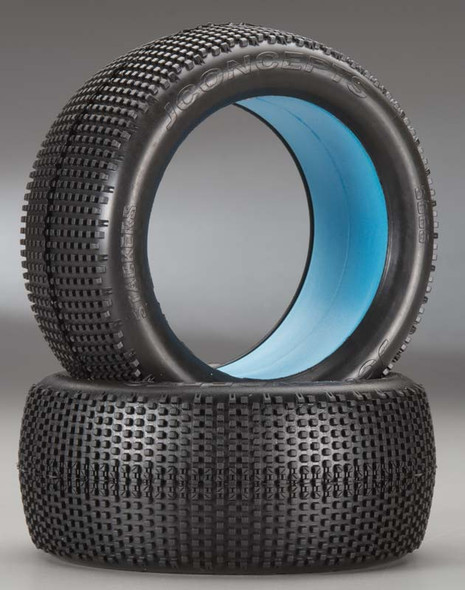 JConcepts Stackers 1/8 Truck Tire Green (2) 3069-02