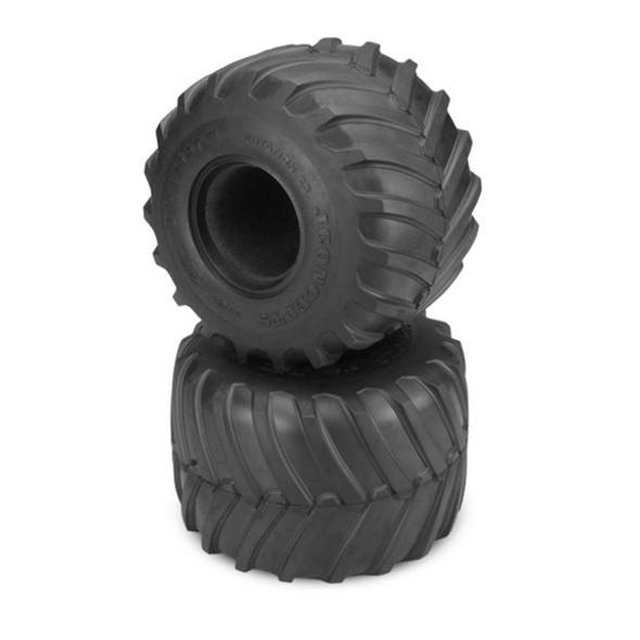 JConcepts 3169-01 Firestorm Monster Truck Tires Blue (soft) Compound SMT10 /Clod