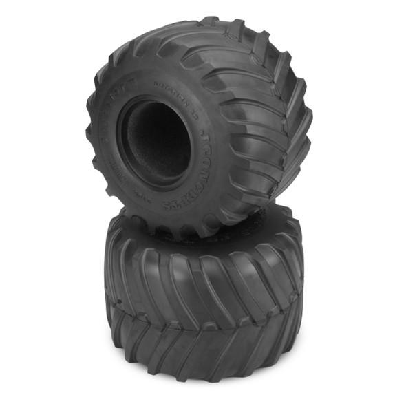JConcepts 316905 1/10 Firestorm Monster Truck Tire Gold Compound Axial SMT10