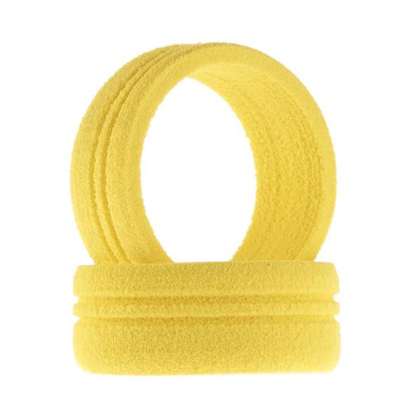 JConcepts 8004 Dirt Tech Transmitter Wheel Foam Grip Yellow 2 Futaba / Specktrum