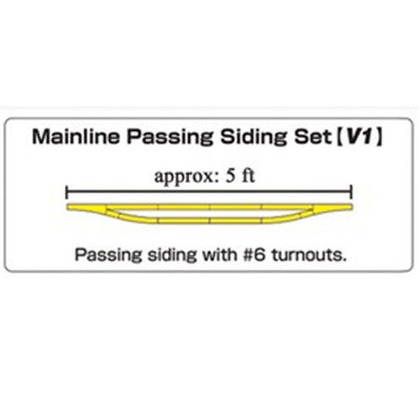 Kato 20860-1 Mainline Passing Siding Set Variation 1 Unitrack N Scale