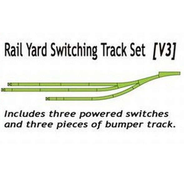 Kato 20862-1 Rail Yard Switching Track Set Variation 3 Unitrack N Scale