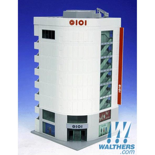 "Kato 23437 5th Avenue Building Kit - Gray - 5 x 4-1/2 x 8-1/4""  N Scale"