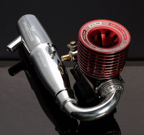 Reds Racing KX210001 X-ONE 2104 Smooth One-piece pipe