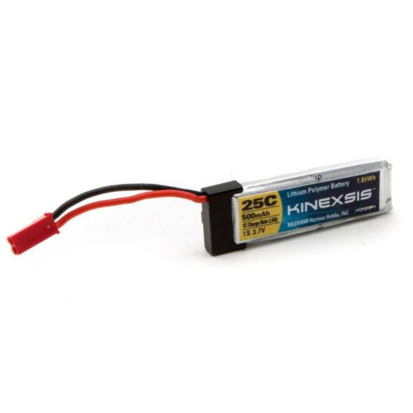Kinexsis 1S 500mAh 3.7V 25C LiPo Battery KXSB0008 Blade 180QX