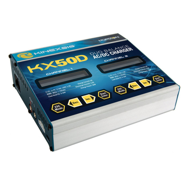 Kinexsis KX50D Duo 2 x 50W AC/DC Charger KXSC1004