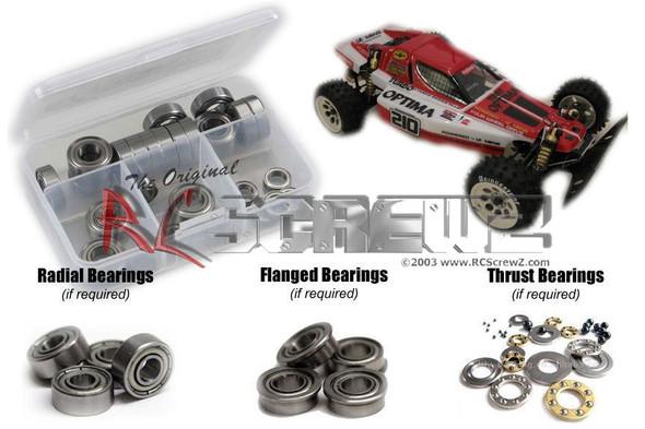 RC Screwz KYO179B Kyosho Turbo Scorpion Vintage Metal Shielded Bearings Kit