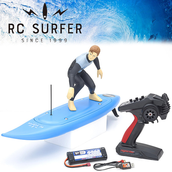 Kyosho 40110T1 RC SURFER 4 Blue w/ Radio / Battery & USB Charger