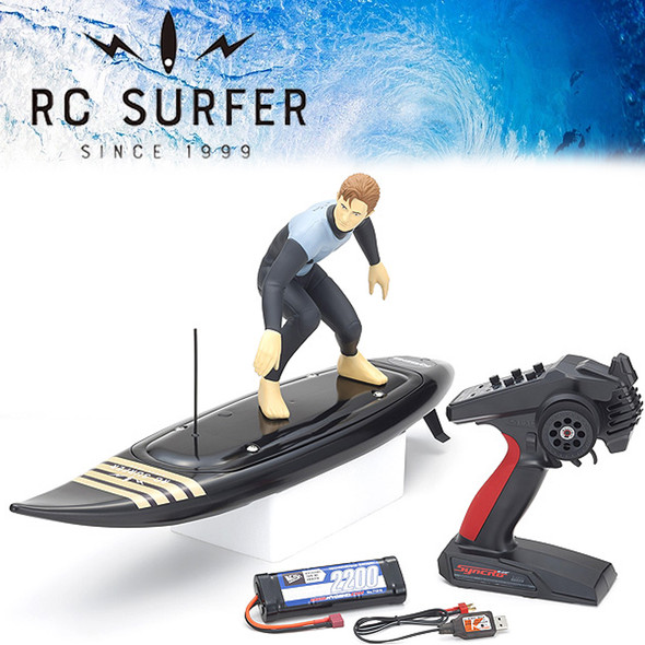 Kyosho 40110T2 RC SURFER 4 Black w/ Radio / Battery & USB Charger