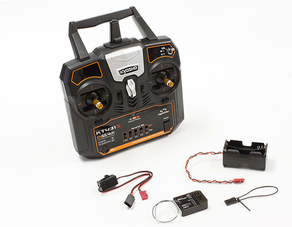 Kyosho 82431M2 Syncro KT-431S Radio Control System 4ch Tx/Rx set Mode 2