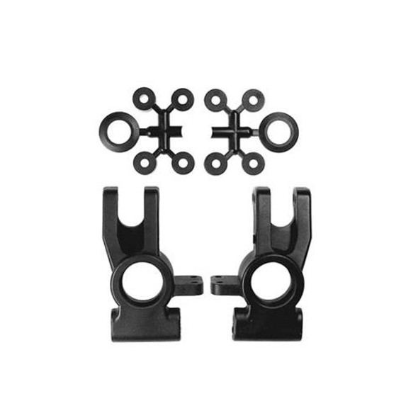 Kyosho IF114B Hub Carrier Rear, spacers / body clip washers: Inferno MP777 / GT2