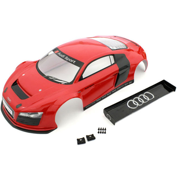 Kyosho IGB109 Audi R8 LMS Complete Painted Body Set Red : Inferno GT2