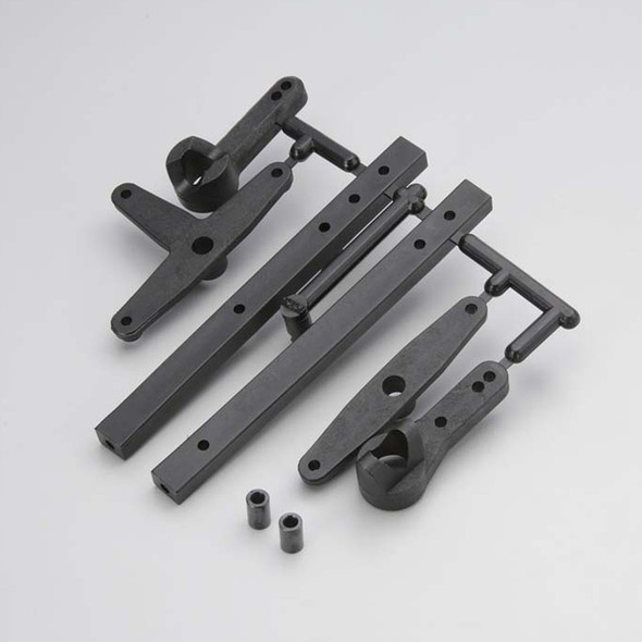 Kyosho MA013B Steering Crank Set: Mad Force / FO-XX / Mad Crusher VE