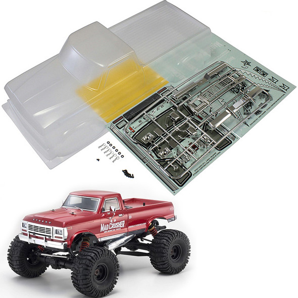 Kyosho MAB073 1/8 Clear Body Set : MAD CRUSHER / VE