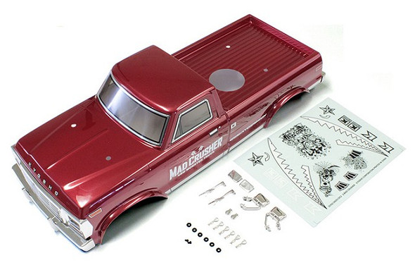 Kyosho MAB403 1/8 Completed Body Set : Red / MAD CRUSHER