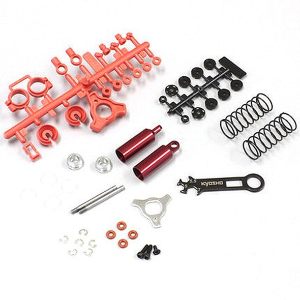Kyosho OT235R Front Shock Red : Optima Buggy