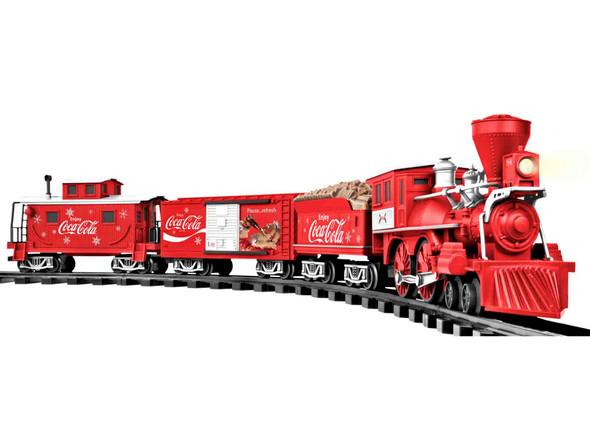 Lionel 7011488 Coca-Cola Holiday RTR G-Gauge Set w / Remote Control