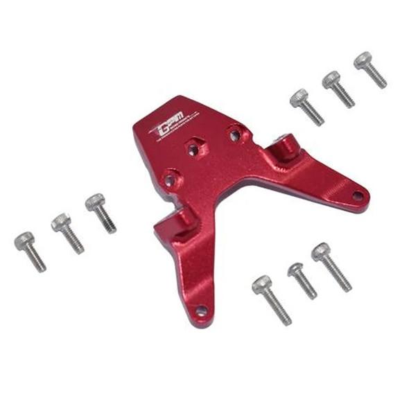 GPM Racing Aluminum Front Bulkhead Red : Losi 1/18 Mini-T 2.0