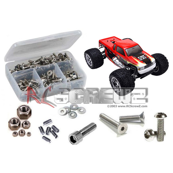 RC Screwz LOS049 Losi LST XXL Stainless Steel Screw Kit