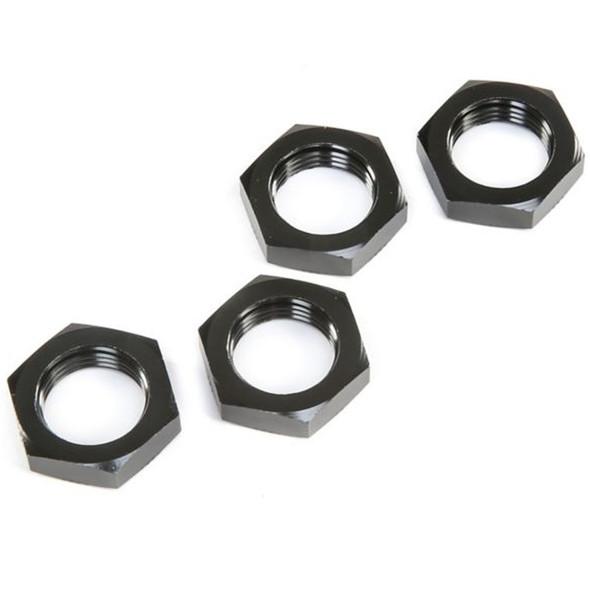 Losi LOS252098 Wheel Nuts Black (4) : 5ive-T 2.0