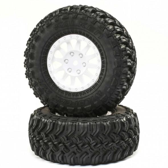 Losi LOS43026 Method Wheel w/ Falken Tire (2) : Tenacity Pro