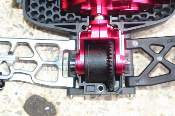 GPM Racing Aluminum Front or Rear Differential Yoke Blue : 4X4 Granite / Big Rock