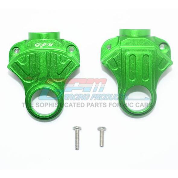GPM Racing Aluminum Front or Rear Differential Yoke Green : 4X4 Granite / Big Rock