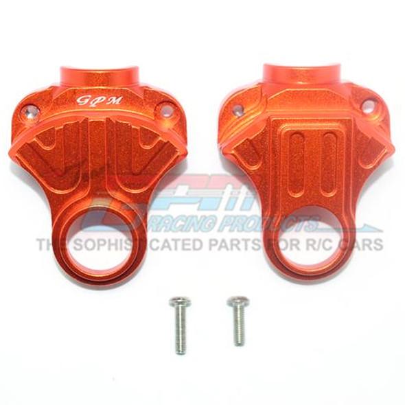 GPM Racing Aluminum Front or Rear Differential Yoke Orange : 4X4 Granite / Big Rock