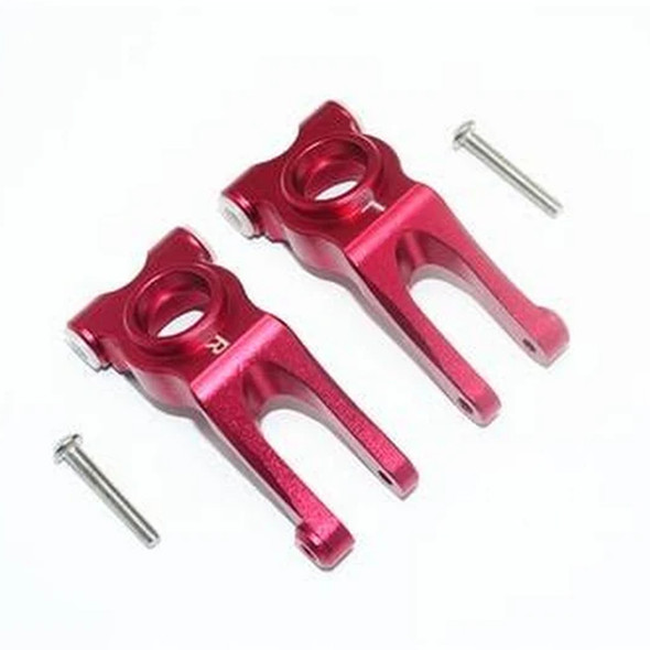 GPM Racing Aluminum Rear Knuckle Arm Red : 4X4 Granite / Big Rock