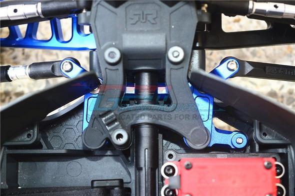 GPM Racing Aluminum Steering Assembly Green : 4X4 Granite / Big Rock Crew Cab