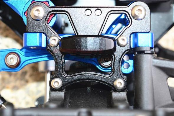 GPM Alum Rear Arm Bulk for Front Upper Arms Blue : Kraton/Senton/Typhon/Talion/Outcast