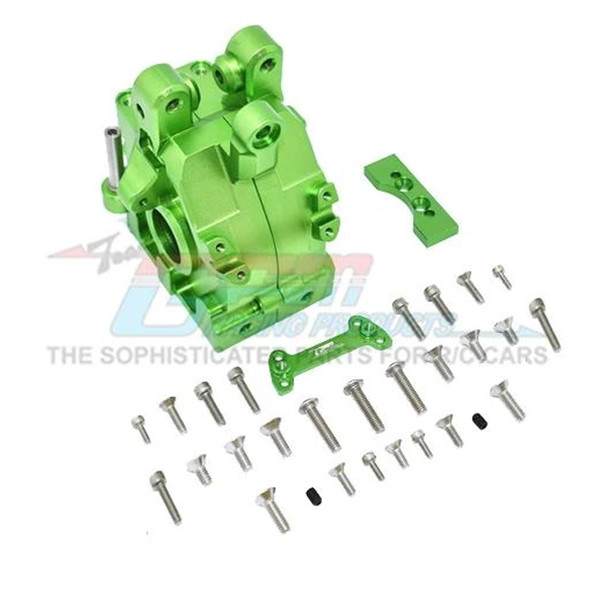 GPM Racing Aluminum Front Gear Box Green : 1/5 Kraton & Outcast  8S BLX