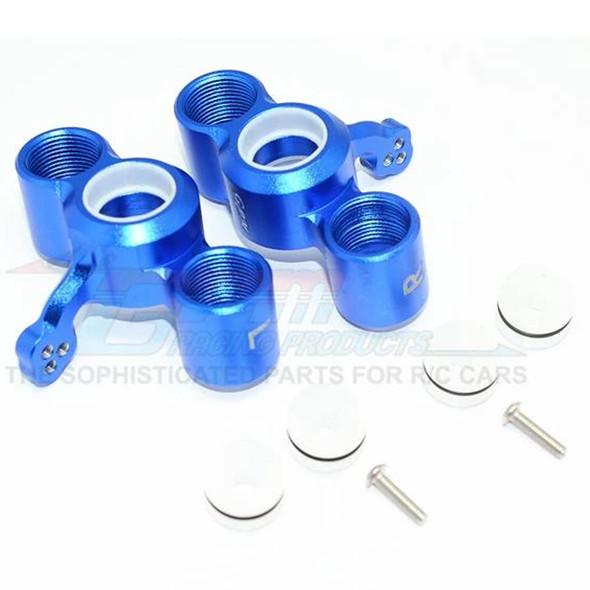 GPM Alum Front Knuckle Arms (8Pcs) Blue : Senton / Typhon / Talion / Infraction / Limitless