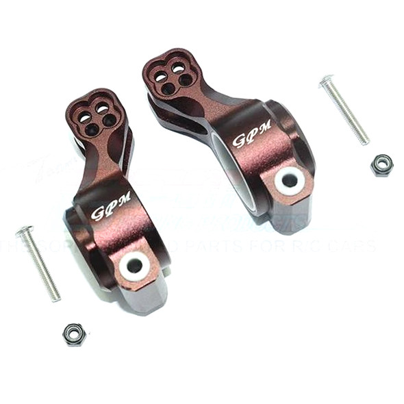 GPM Aluminum Rear Knuckle Arm (6Pcs) Brown : SENTON / TALION / INFRACTION / LIMITLESS