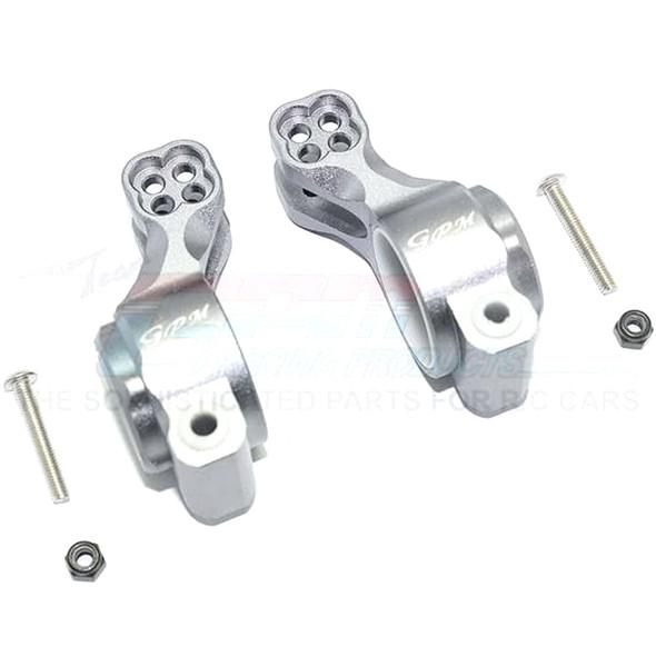 GPM Aluminum Rear Knuckle Arm (6Pcs) Grey : SENTON / TALION / INFRACTION / LIMITLESS