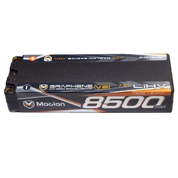 Maclan Racing MCL6013 Graphene V2 High Voltage 8500mAh 2S 7.6V Battery