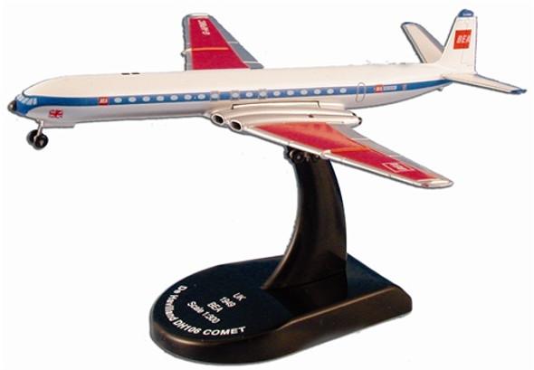 """Model Power 1:300 Model Aircraft De Havilland DH106 Comet """"BEA"""" 5802"""