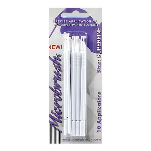 Microbrush Microbrush Superfine Applicator Paint 1.0mm (10) MHS10