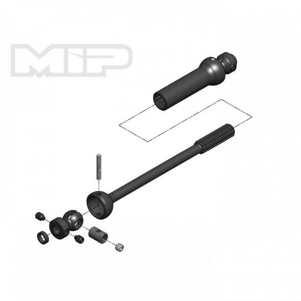 MIP 18170 Center Drive Kit Sgl Shft 140mm-165mm w/5mm Hubs : Axial Yeti