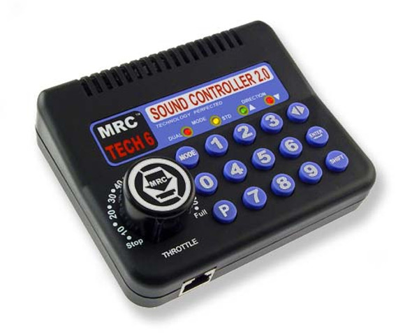 MRC 0001200 TECH 6 SOUND CONTROLLER 2.0 For HO Scale