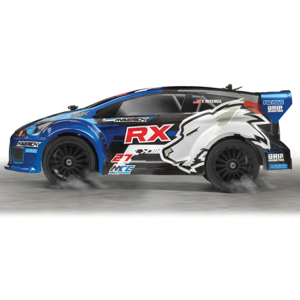 Maverick 12805 1/18 iON RX 4WD Off-Road Electric RTR Rally Car
