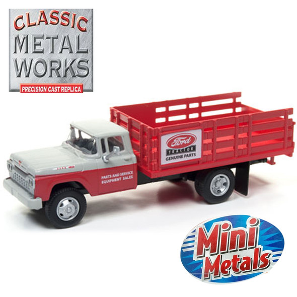 Classic Metal Works 30494 Mini Metals '60 Ford Stakebed Truck Ford Parts 1:87 HO