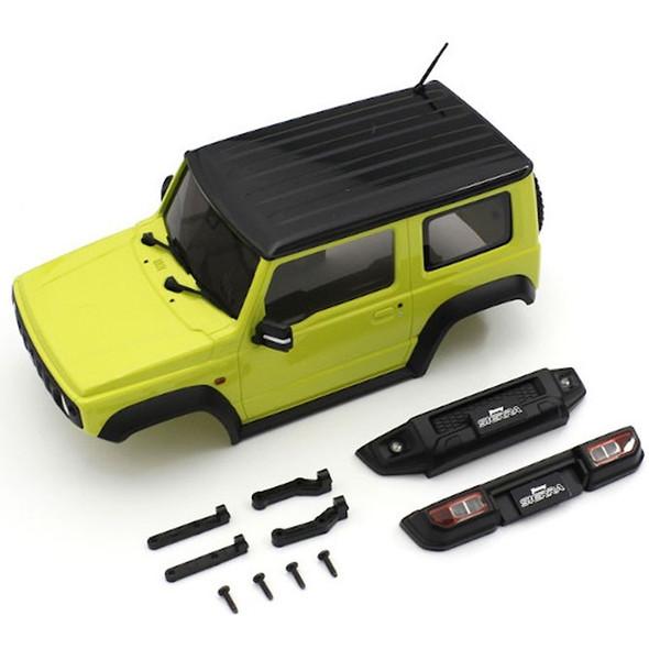 Kyosho MXB03Y BS MX-01 Suzuki Jimny Sierra Yellow Body Set : Mini-Z 4x4 Series