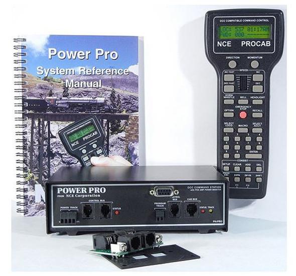 NCE Power Pro 5amp Starter Set PH-PRO/5A 5240001