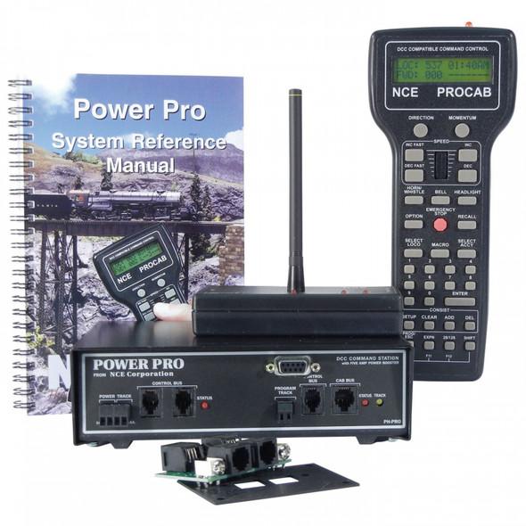 NCE Power Pro-r Starter Set w/Radio PH-PRO-R/5A 5240002