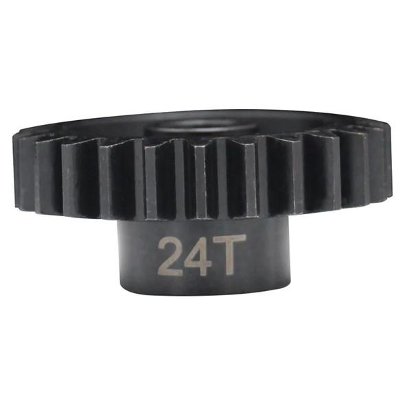 Hot Racing NSG24M15 24T Mod 1.5 Hardened Steel Pinion Gear 8mm Bore