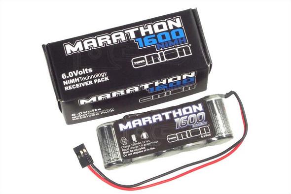 Team Orion ORI12228 Marathon 6V 1600mAh NiMH 5C Receiver Stick Battery