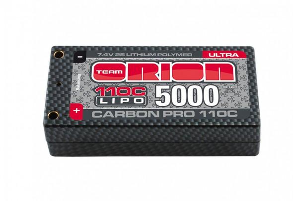 Team Orion ORI14083 Carbon Pro Ultra 7.4V 5000mAh 110C 2S LiPo Shorty Battery