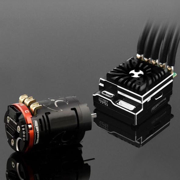 Team Orion HMX 10 ESC Blinky Bundle w/ 17.5 T Brushless Motor Combo